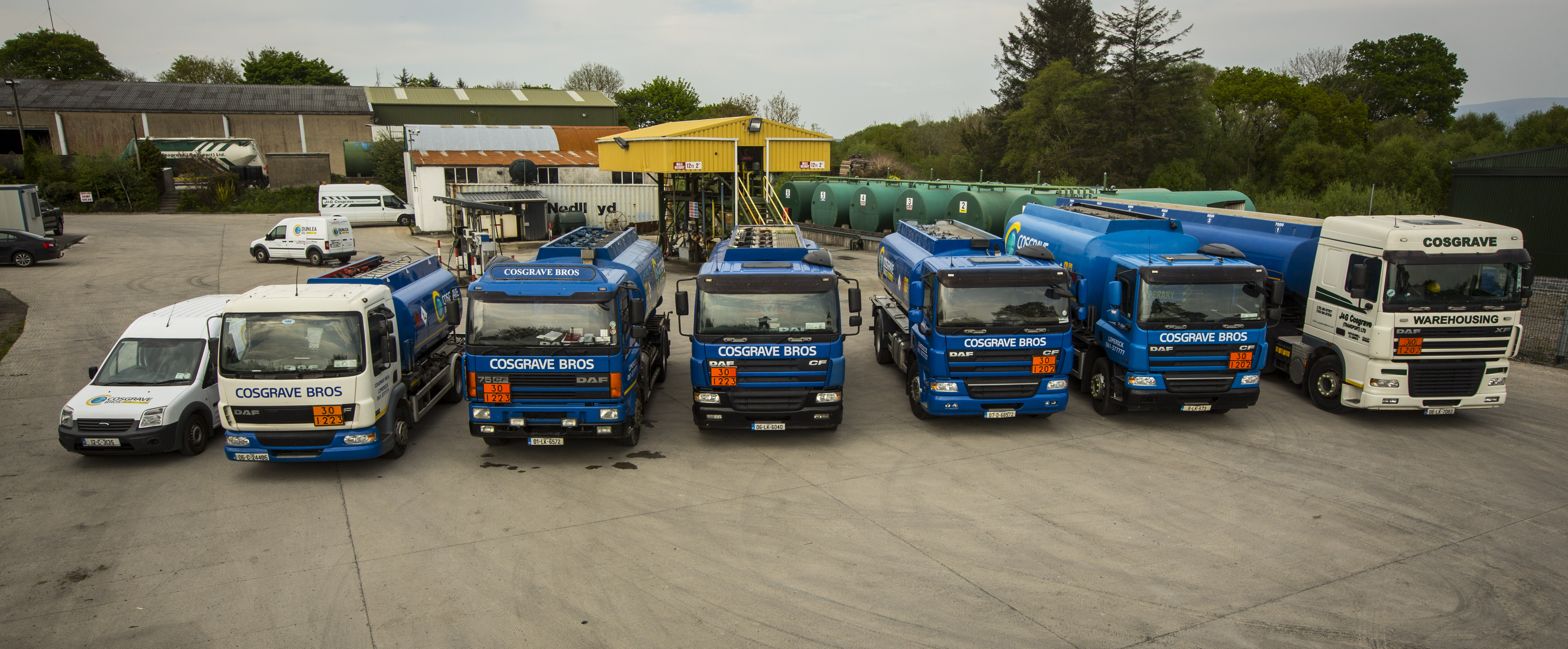 Cosgrave Oil Fuel Delivery Fleet