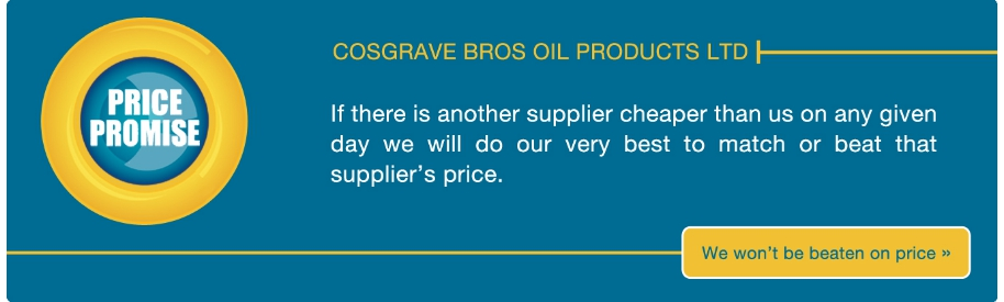 Cosgrave Oil won't be beaten on price